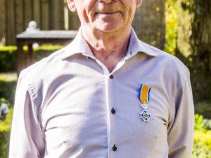 Henk Stubbe uit Kaatsheuvel koninklijk onderscheiden